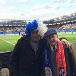 Raymond & fellow supporter David